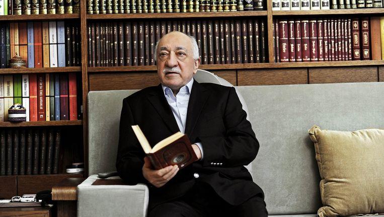 Fethullah Gülen, leider van de Gülenbeweging. Beeld ANP