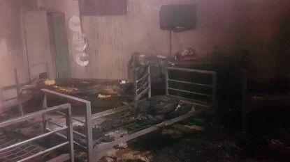 Asielzoekers stichten brand in cel en raken zwaargewond