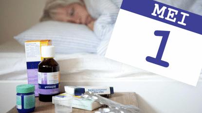In 1 maand tijd helft minder antibiotica