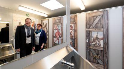 Nieuw sanitair ledigt toiletnood Tivoli