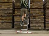 Slimme ladder zit vol met kunststof uit Moergestel