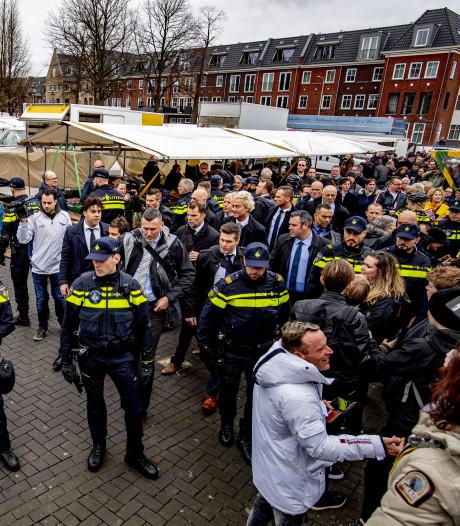 Wilders een week na verijdelde aanslag op pad met leger agenten en beveiligers