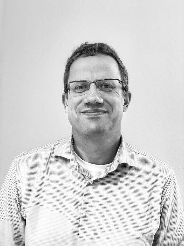 André Herbrink, teamhoofd voortgezet onderwijs/mbo bij de gemeente Amsterdam Beeld