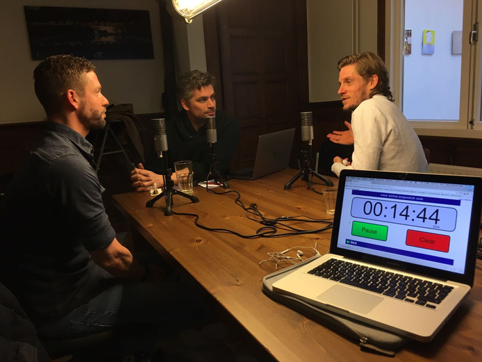 Eerste aflevering wielerpodcast In het Wiel.