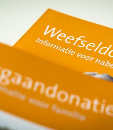 Tienduizenden inwoners van Rivierenland hebben nog geen keuze doorgegeven voor het donorregister