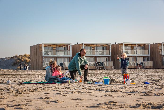 De 74 strandvilla's in Hoek van Holland zijn razend populair.