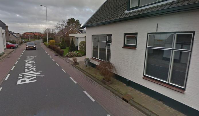 Rijksstraatweg in Nieuwenhoorn.