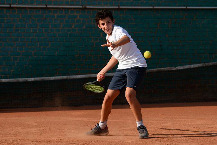 Ludovic Thibaux kroonde zich tot Oost-Vlaams kampioen bij de U13