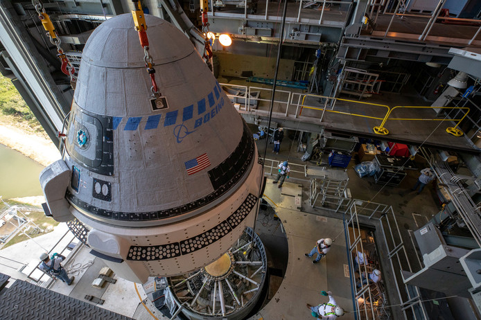 De Starliner moet veilig landen op White Sands Space Harbor, een ruimtevaartterrein in de staat New Mexico.