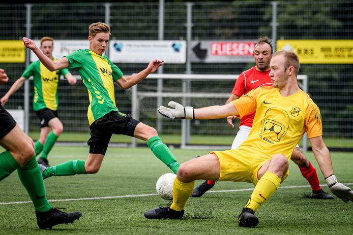 WVV'34 rijgt de kansen aaneen in Enschede, maar krijgt de bal geen enkele keer over de lijn.
