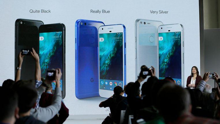 De presentatie van de Google Pixel Beeld anp
