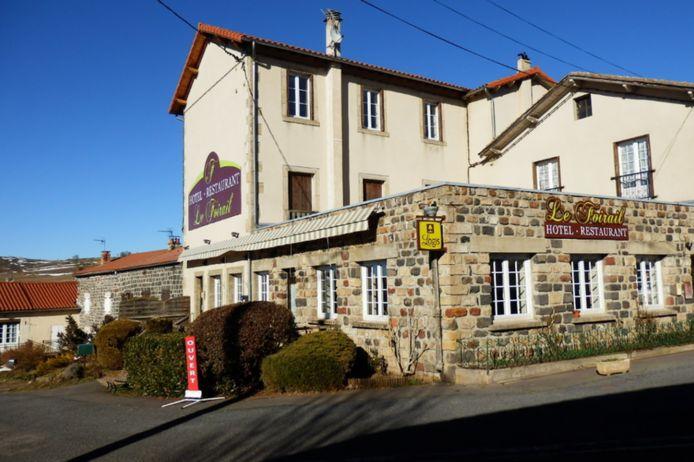 L'hôtel-restaurant Le Foirail.