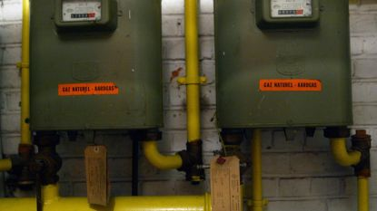 Aardgasfactuur zal licht dalen volgend jaar