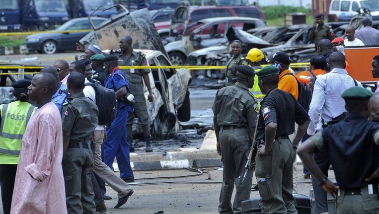 Extremisten eisten de aanslag in Abuja op. Beeld epa