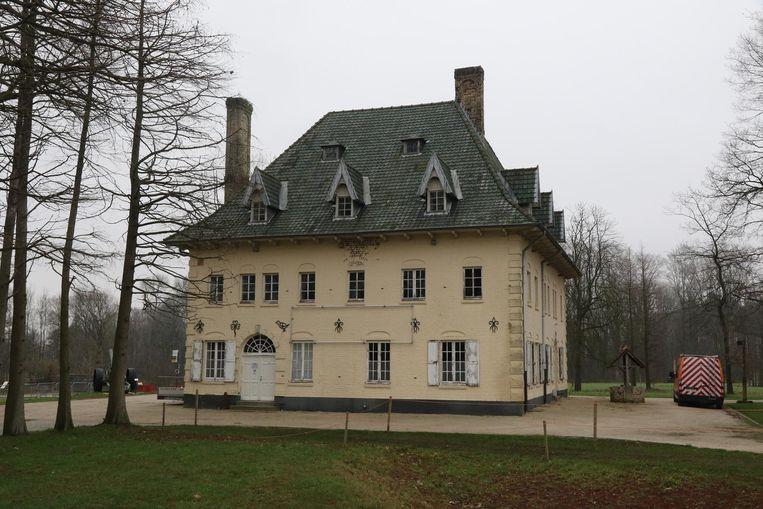 Het imposante landhuis Villa Zonnedaele.