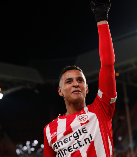 PSV-ballenjongen Mohammed Ihattaren hoort nu ineens bij de grote jongens