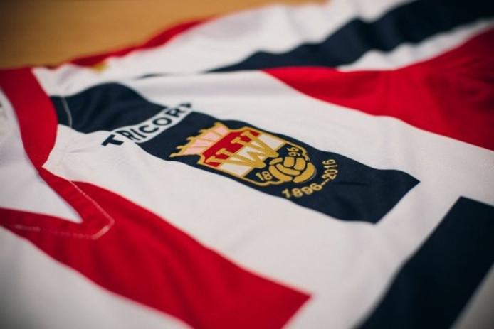Het jubileumshirt van Willem II.