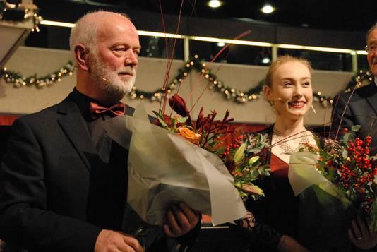 De solisten Peter van Hoesel en Annemiek Vendelmans