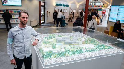 Maquette brengt het masterplan Ziekenhuis Oost-Limburg in beeld