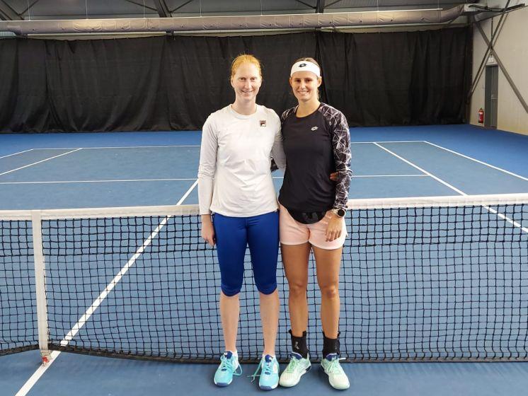 """Minnen et Van Uytvanck """"ravies de pouvoir s'entraîner ensemble"""" à Melbourne"""