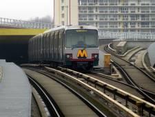 Metroverkeer Schiedam Centrum ontregeld