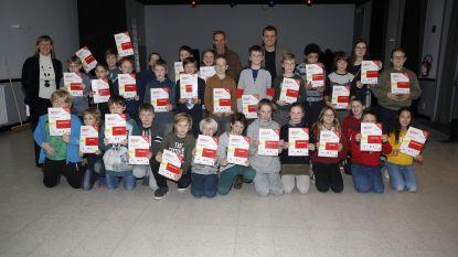 Kinderen Destelbergen ontvangen diploma Techniekacademie