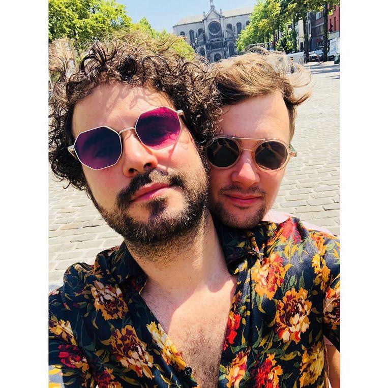 Riadh Bahri en zijn vriend