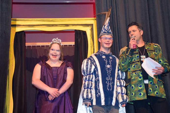 Prins Pim en prinses Josephine.