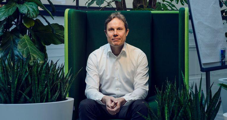 Evert den Boer, directeur van Greenchoice: 'Je moet soms grote stappen durven nemen'. Beeld Lars van den Brink
