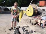 Jurre en Quinn (11) speelden met een granaat uit WOII