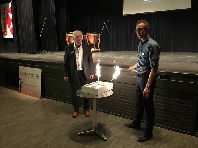 Henny van der Burgt en Rick Hooijberg.