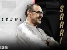 Maurizio Sarri à la Juventus, c'est officiel