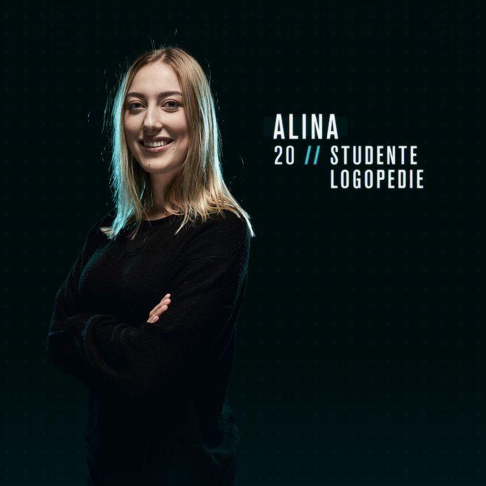 Alina in De Mol