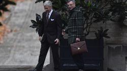 Koning Filip zet consultaties verder: kersvers CD&V-voorzitter Joachim Coens als eerste op de koffie
