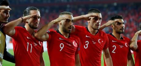 Risicowedstrijd Frankrijk-Turkije ontaardt in een politieke strijd
