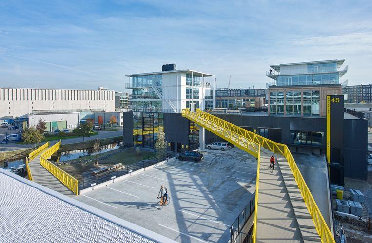 Imagewharf werk- en studiogebouw, Amsterdam. Beeld  Jeroen Musch