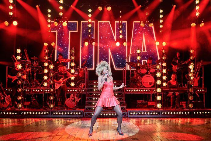 Nyassa Alberta als Tina Turner.