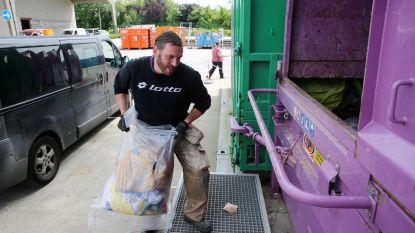 Recyclagepark uitzonderlijk gesloten door passage Tour de France