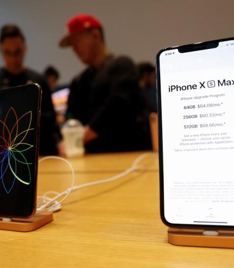'Apple moet boete betalen aan Samsung wegens te weinig afgenomen oledschermen'