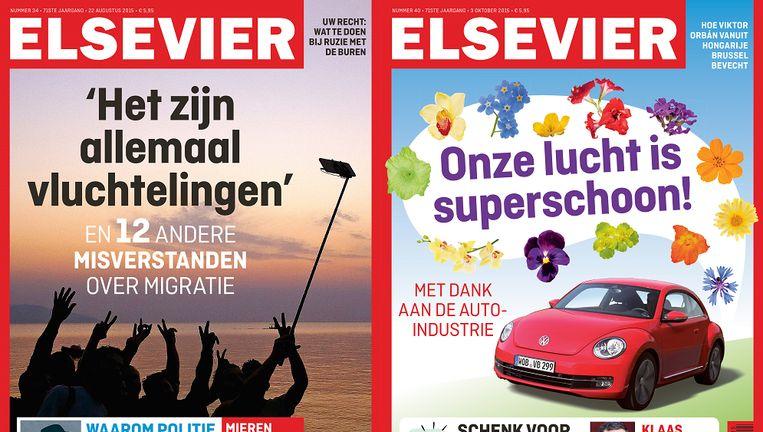 Elsevier onderzoekt of er juridische stappen mogelijk zijn tegen de aangekondigde naamswijziging. Beeld null