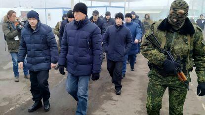 Oekraïne en pro-Russische rebellen hebben 200 gevangenen uitgewisseld