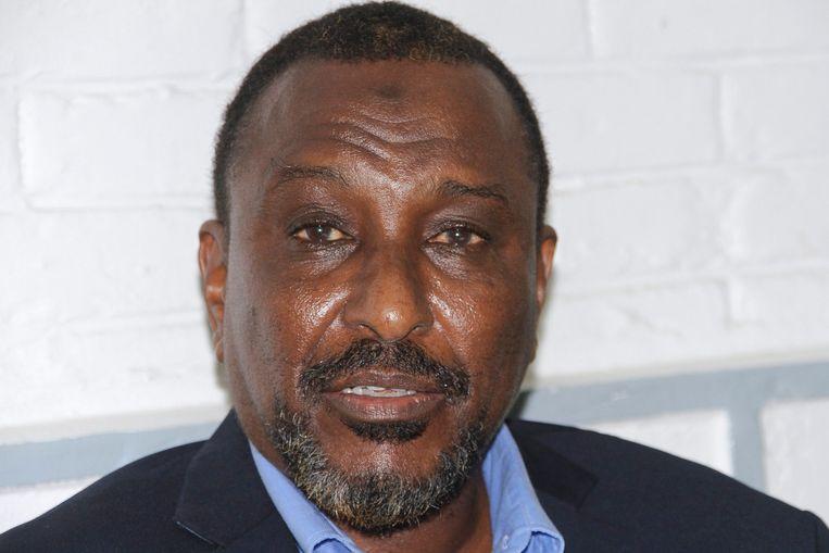 Piratenkoning Mohamed Abdi Hassan, bijgenaamd 'Afweyne' ('Grote Mond')