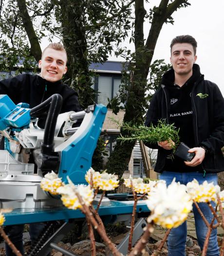 Vriendenduo Nederlands kampioen tuinaanleg