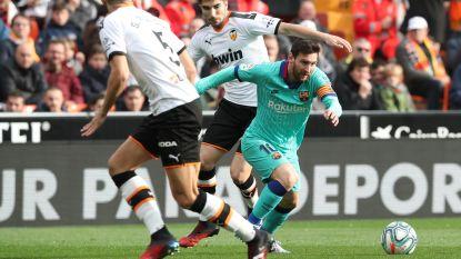 LIVE. Piqué begaat strafschopfout, maar Ter Stegen voorkomt dat Valencia op voorsprong klimt