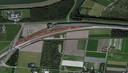 De beoogde locatie voor een te bouwen onderhoudswerkplaats in Lelystad.