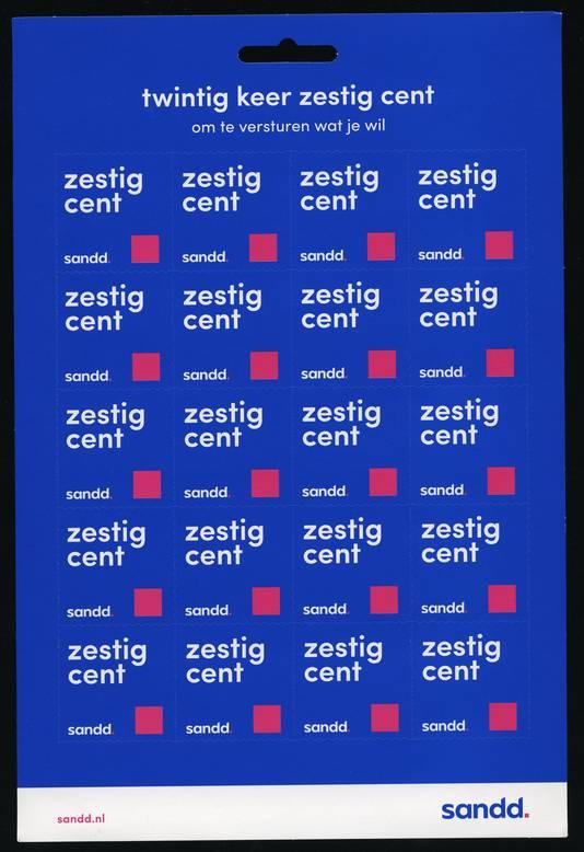 De goedkopere postzegels van Sandd
