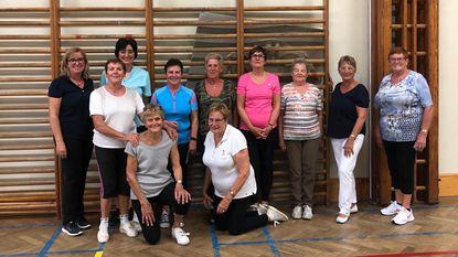 80-jarigen actief bij turnclub Sirene