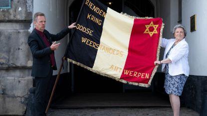 """Fort van Breendonk krijgt vlag van Joodse weerstanders: """"Geschenk met grote symbolische waarde krijgt nieuwe thuis in 'jodenbarakken'"""""""