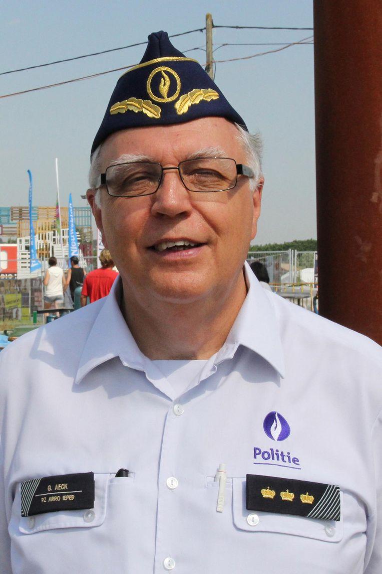 Georges Aeck, commisaris van pz Arro.