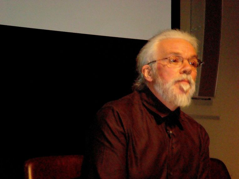 Oud-hoogleraar Noel Sharkey: 'Toen ik voor het eerst al die plannen zag voor robotwapens, kon ik het niet geloven. Waarom willen landen deze wapens eigenlijk?' Beeld Andy Miah, Liverpool